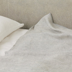 Linen Blanket - Grey - KESTREL
