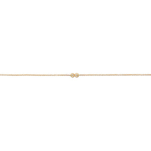 14k Lovebirds Diamond Bracelet - KESTREL