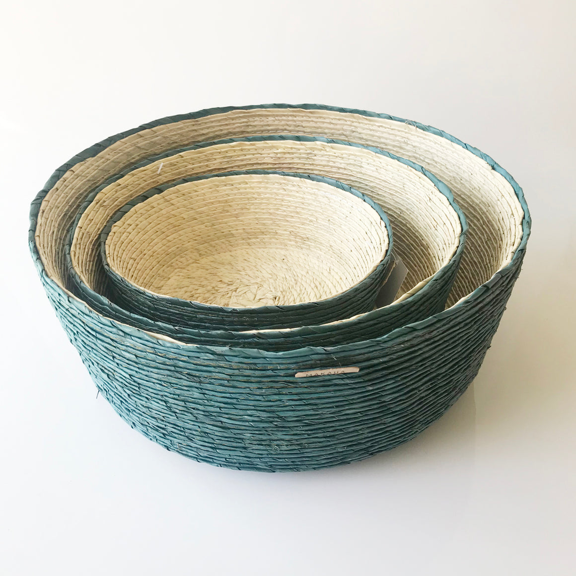 Emerald Nesting Baskets
