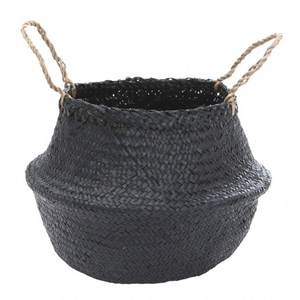 Medium Belly Basket - Black - KESTREL