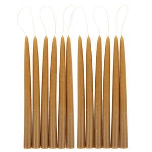 "12"" Taper Candles - Miel - KESTREL"