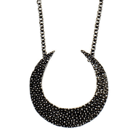 Stingray Crescent Necklace