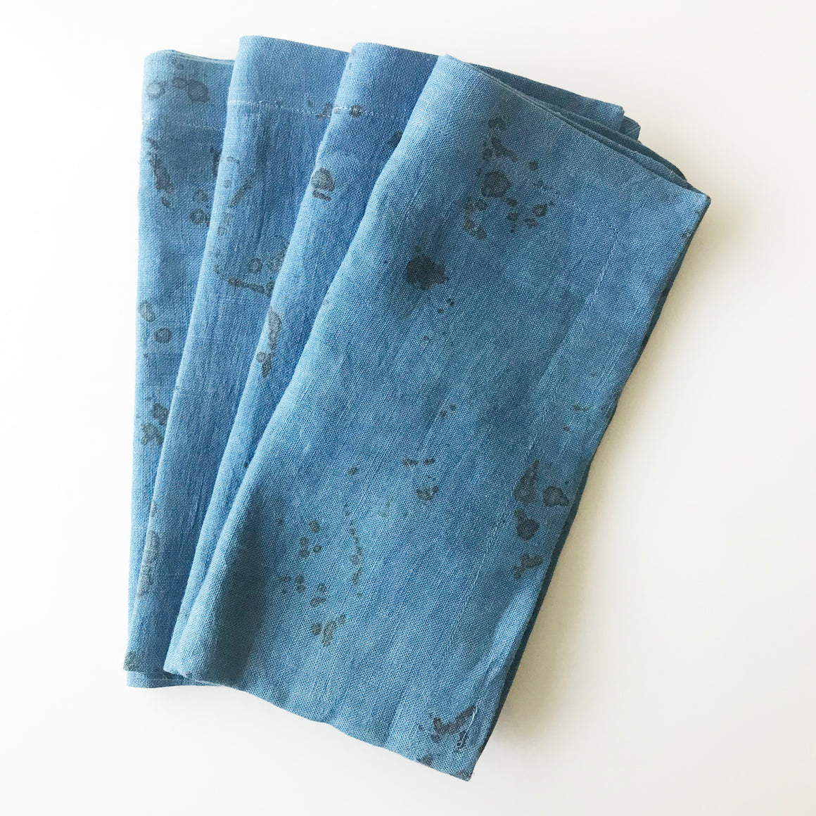 Rose + Indigo Dye Napkins - Set of 4 - KESTREL