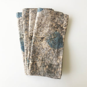 Pomegranate Peel + Indigo Dye Napkins - Set of 4 - KESTREL