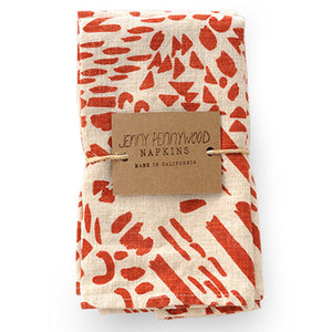 Set of 2 Napkins (Brick)