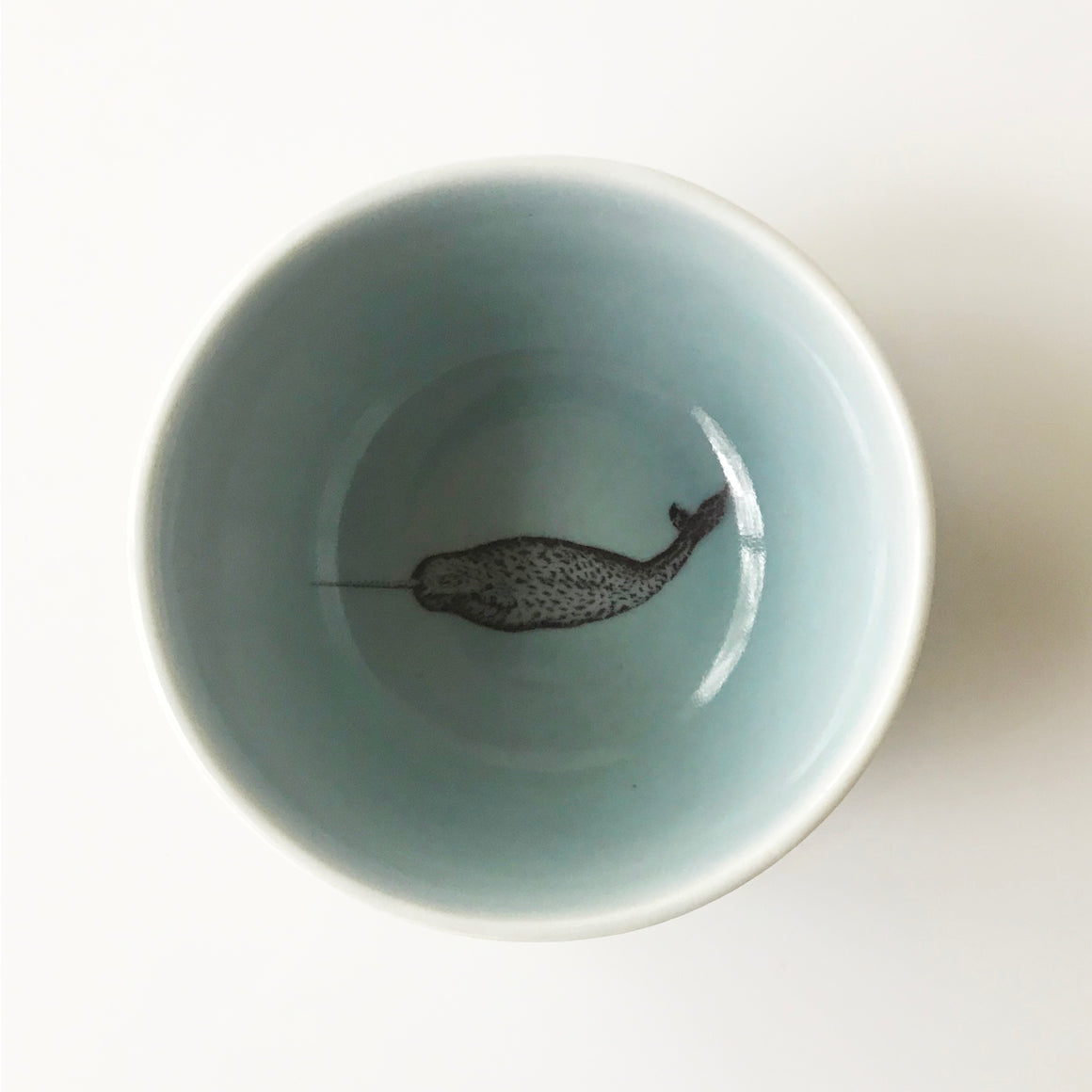 Tiny Narwhal Bowl (Ocean) - KESTREL