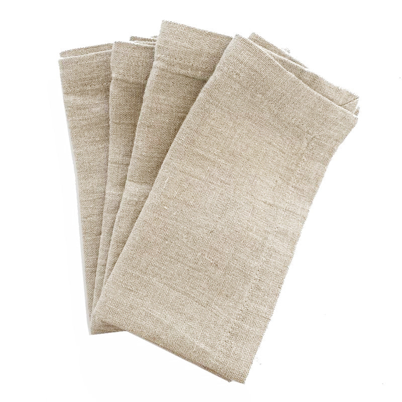 Linen Napkins - Set/2 - Natural