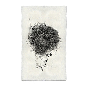 Nest Print #3 on handmade paper