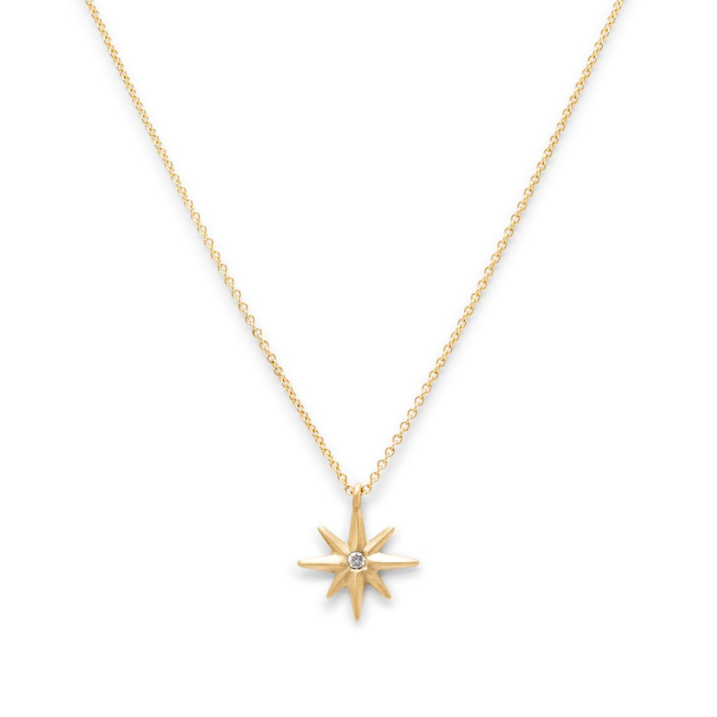 14k Diamond Twinkle Necklace - KESTREL