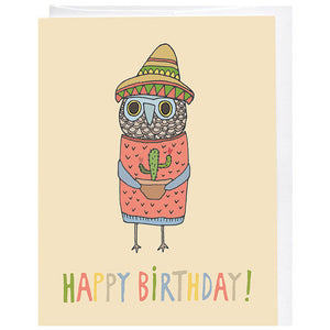 Birthday Cactus Card - KESTREL
