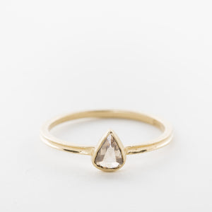 Pear Shaped Chocolate Diamond