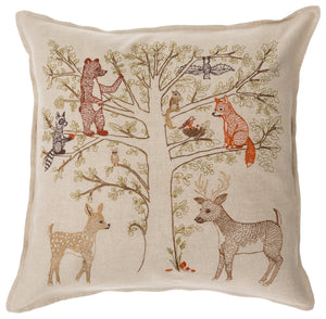 Woodland Living Tree Pillow - KESTREL