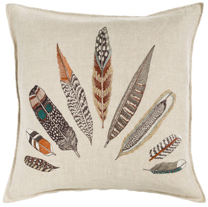 Plumes Fan Pillow