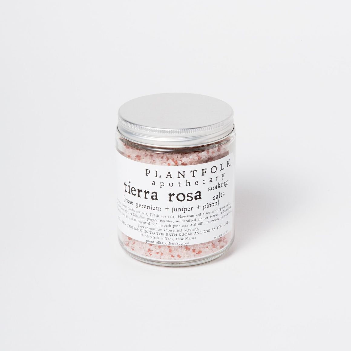 Tierra Rosa Soaking Salts