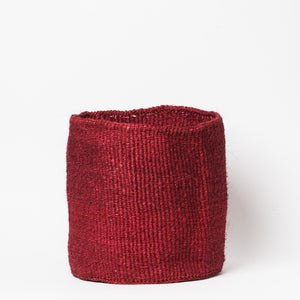 Sisal Basket Large - Red - KESTREL