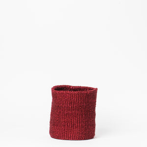 Sisal Basket Small - Red