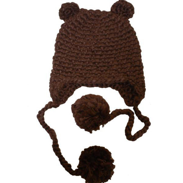 Sam Bear Knit Hat