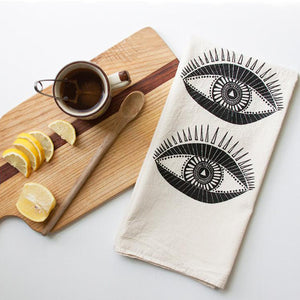 Seeing Eyes Tea Towel - KESTREL