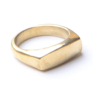 Brass Soho Ring