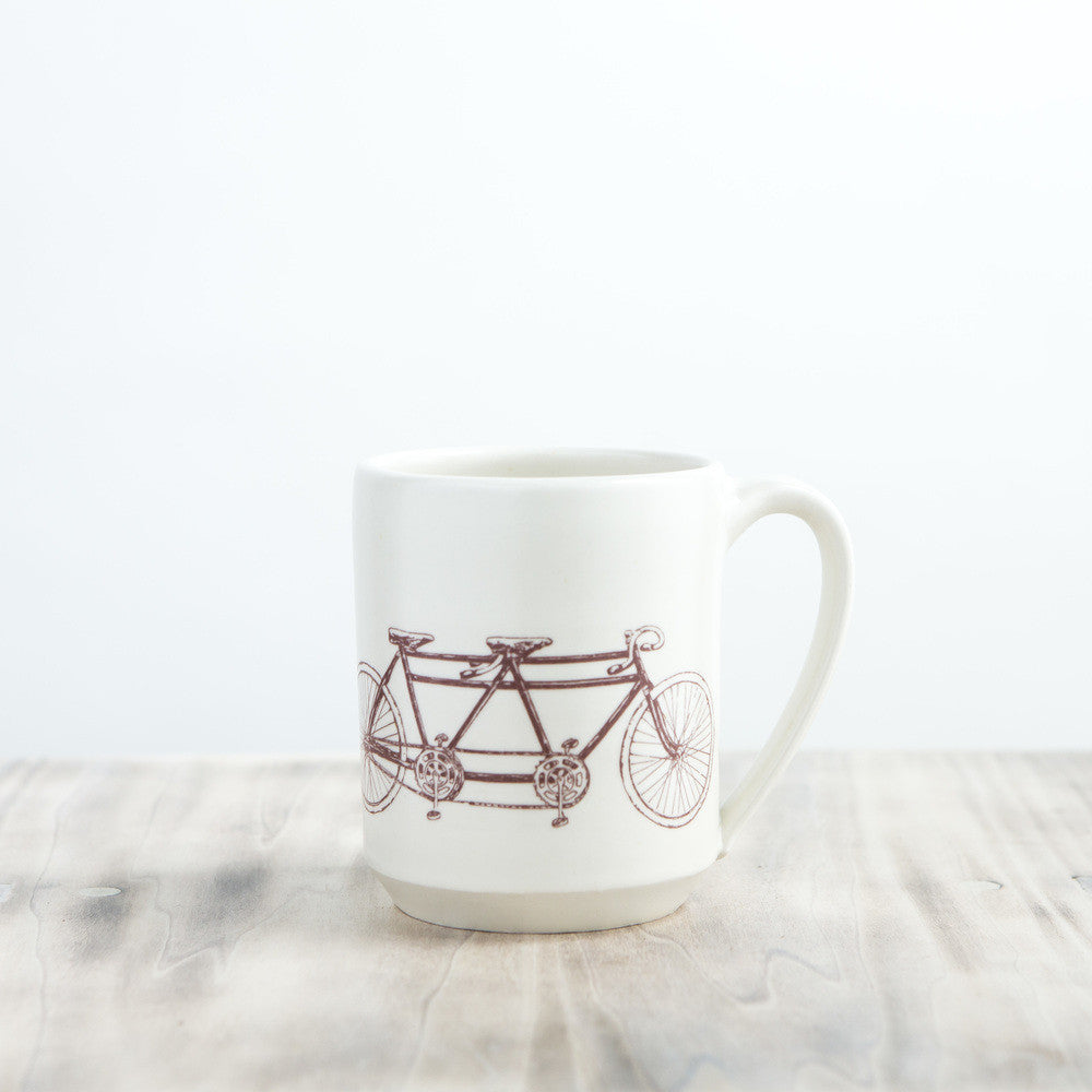 Tandem Bicycle Mug
