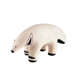Tiny Wooden Anteater - KESTREL