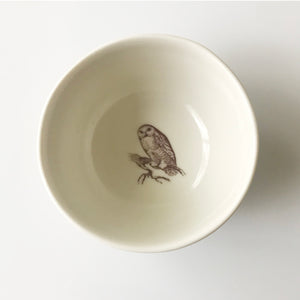 Tiny Owl Bowl (Cream) - KESTREL