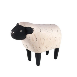 Tiny Wooden Sheep - KESTREL