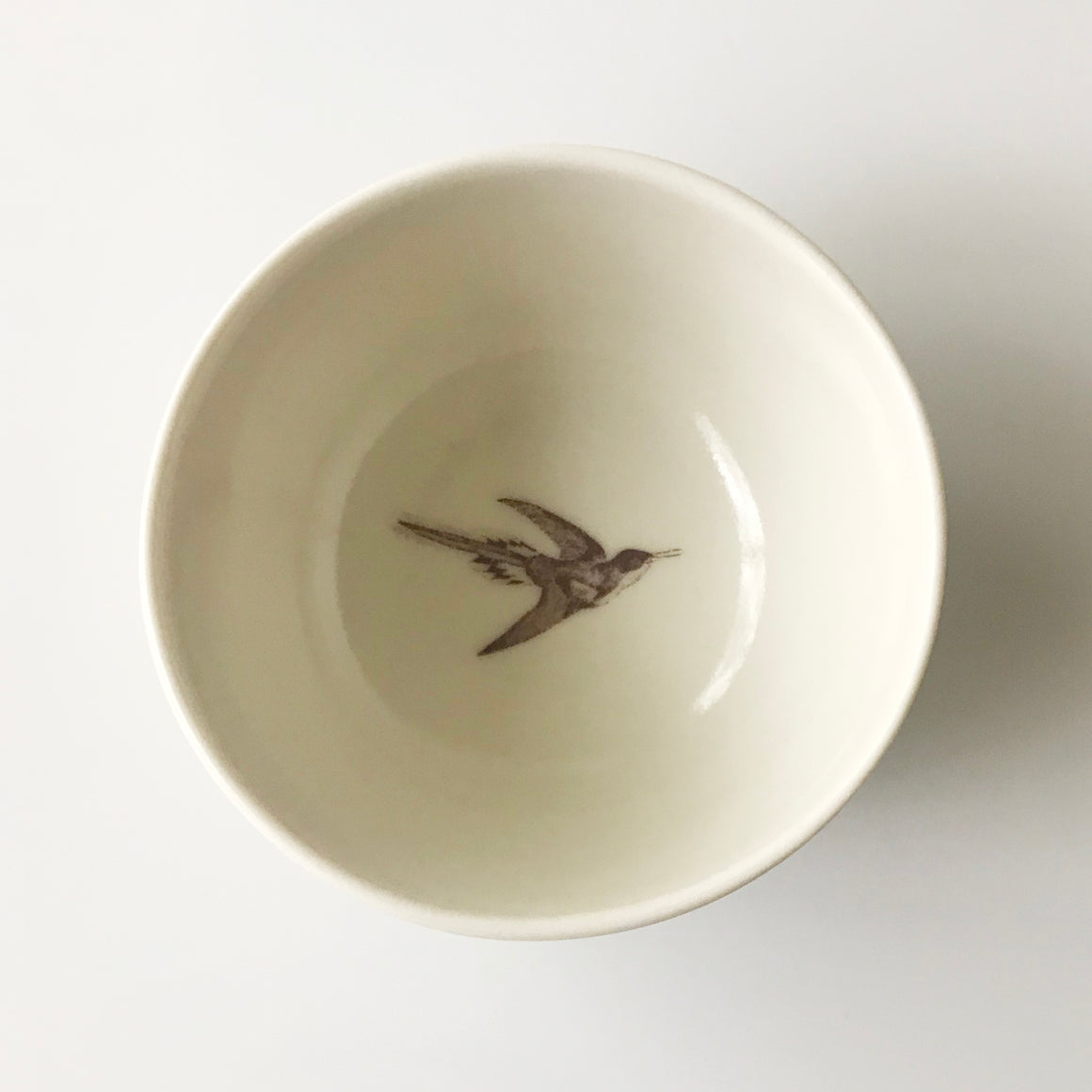 Tiny Swallow Bowl (Cream) - KESTREL