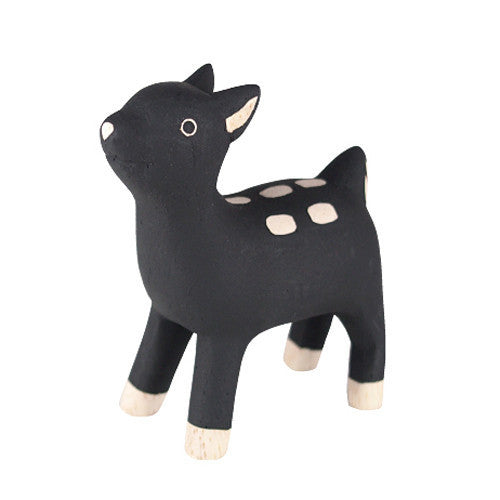 Tiny Wooden Deer
