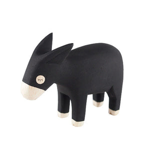 Tiny Wooden Donkey