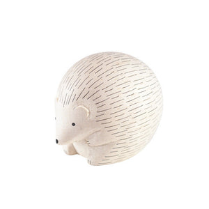 Tiny Wooden Hedgehog
