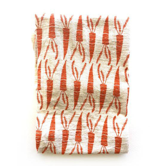 Carrots Tea Towel - KESTREL