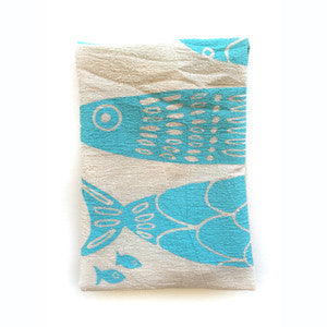 Fish Tea Towel - KESTREL
