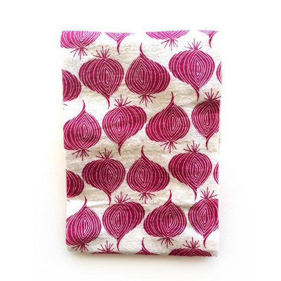 Onions Tea Towel
