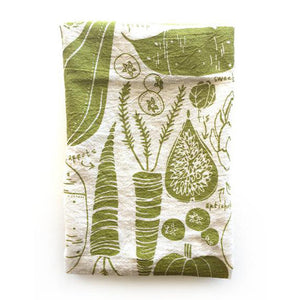 Veggies Tea Towel - KESTREL