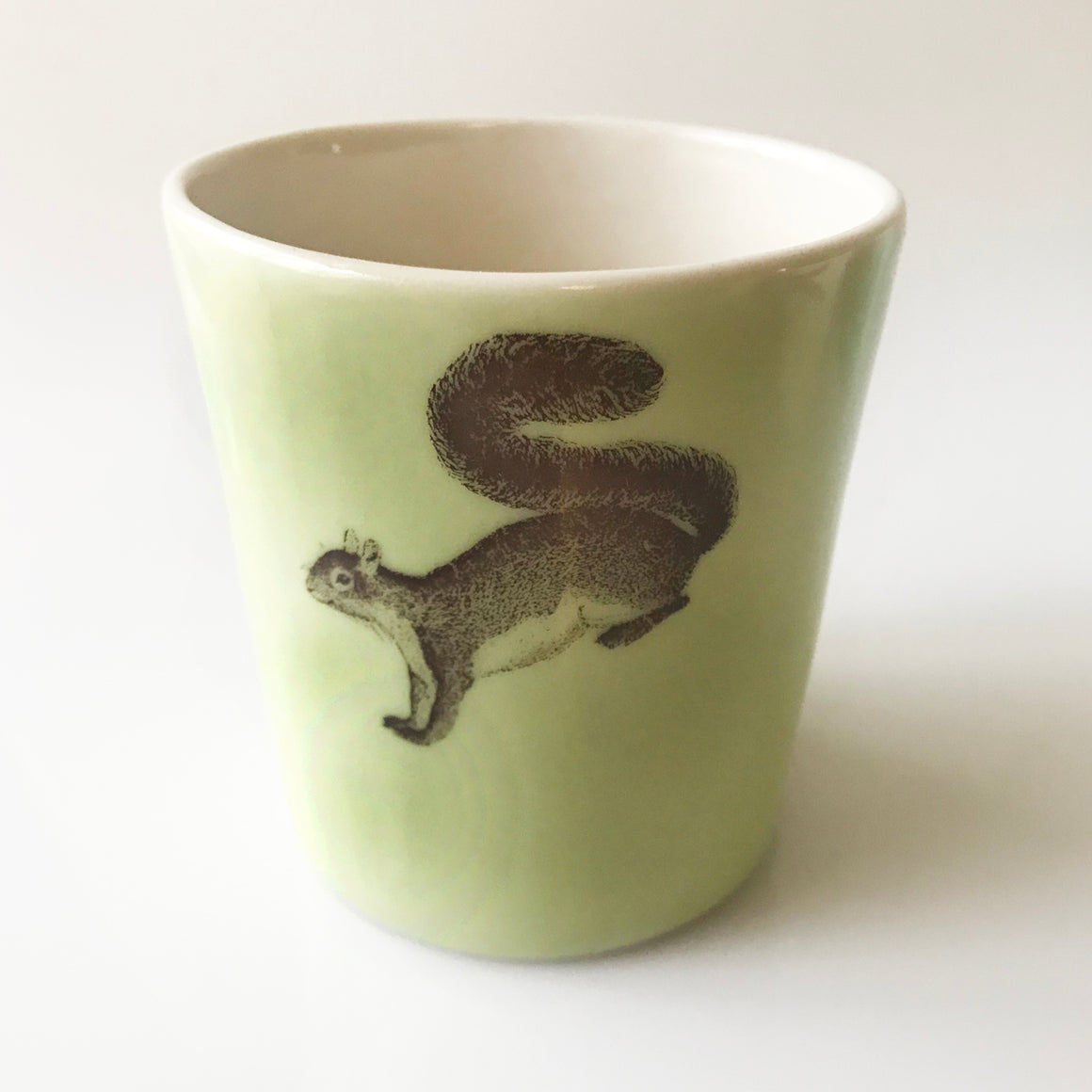 12oz Porcelain Squirrel Tumbler - KESTREL