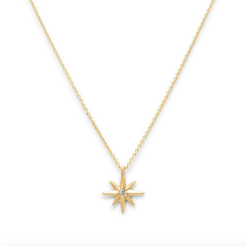 14k Diamond Twinkle Necklace