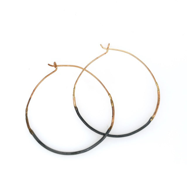 Small Ombre Hoops