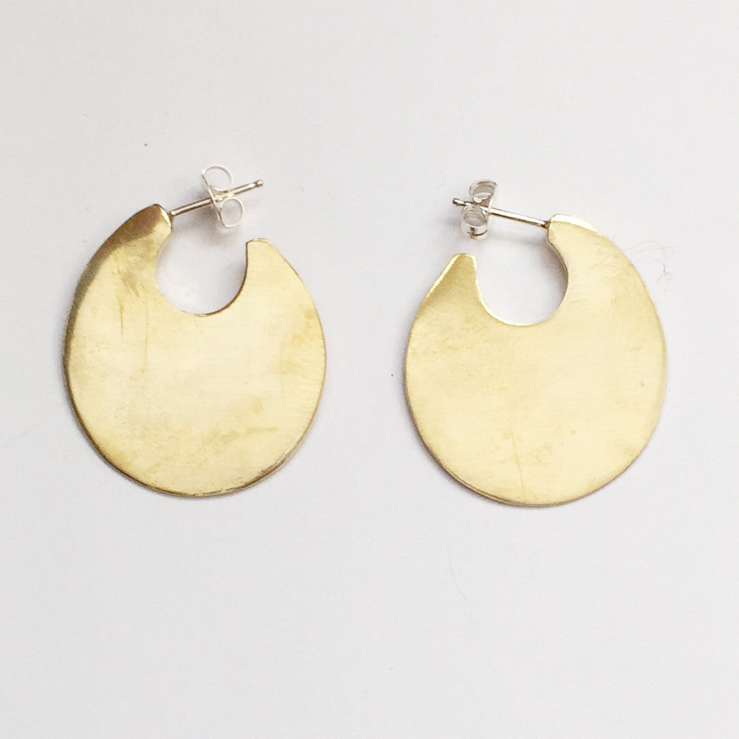 Waters Disk Earrings - KESTREL