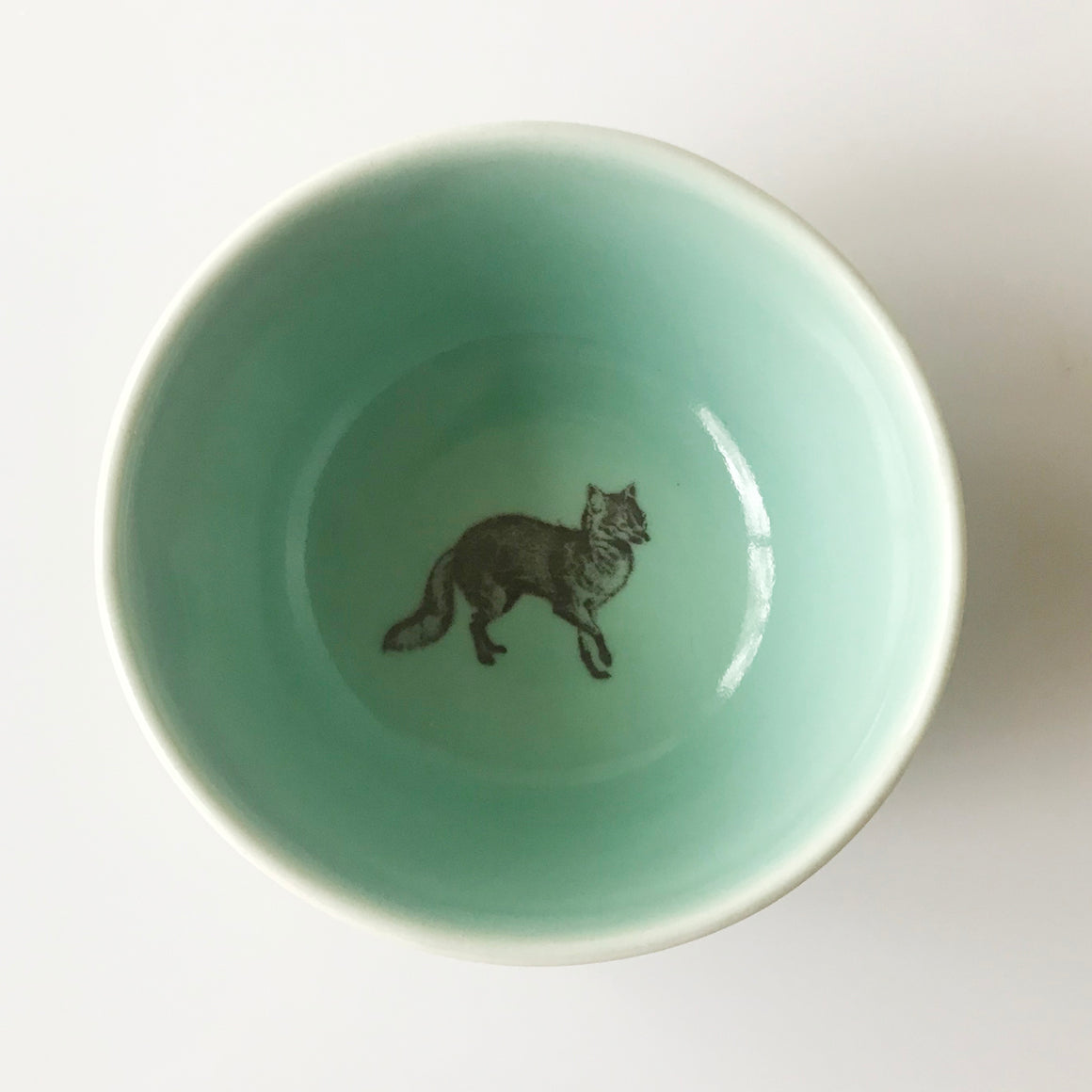 Tiny Fox Bowl (Aqua) - KESTREL