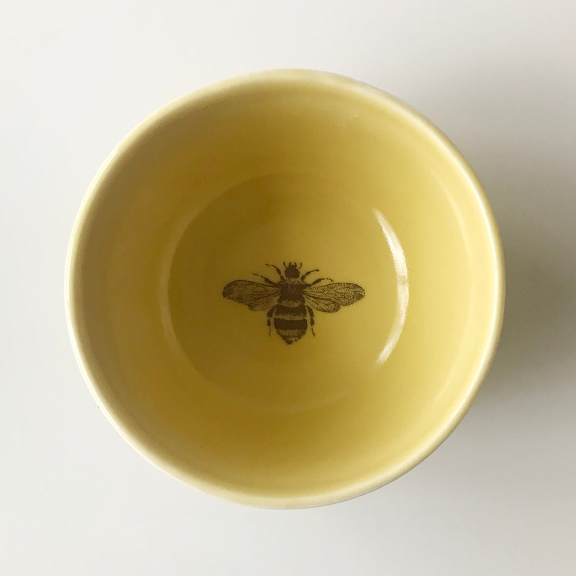 Tiny Bee Bowl (Mustard) - KESTREL