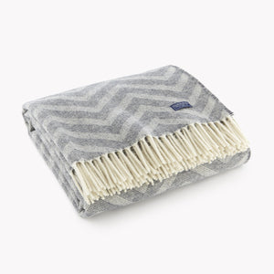 Chevron Wool Throw - KESTREL