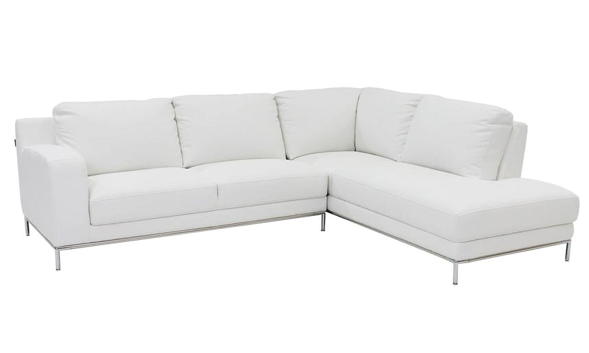 1829 Breathable Fabric Sectional - White