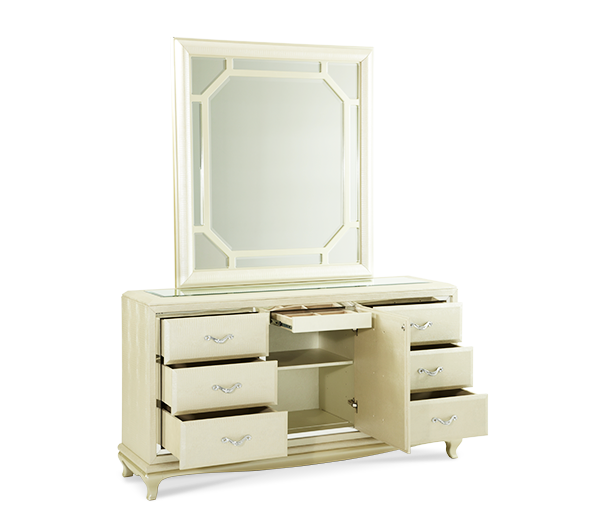 After Eight Pearl Dresser by Michael Amini