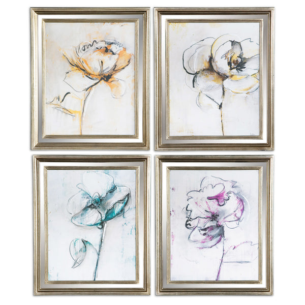 Jesters Art, Set of Four