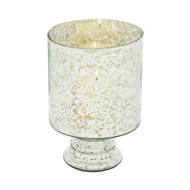 Mercury Glass Candle Holder 24670 | UMA Enterprises