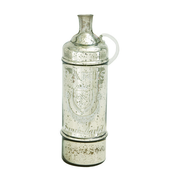 Mercury Glass Bottle Jug 24920 | UMA Enterprises