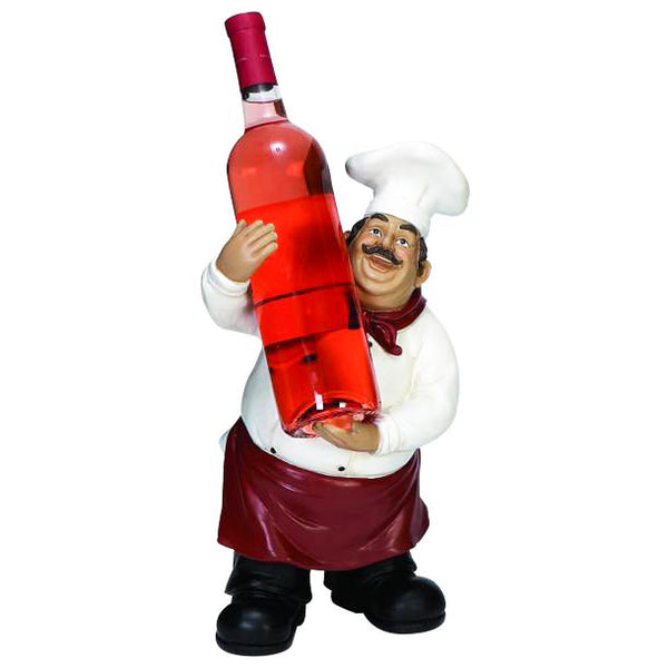 Chef Wine Bottle Holder 35542 | UMA Enterprises