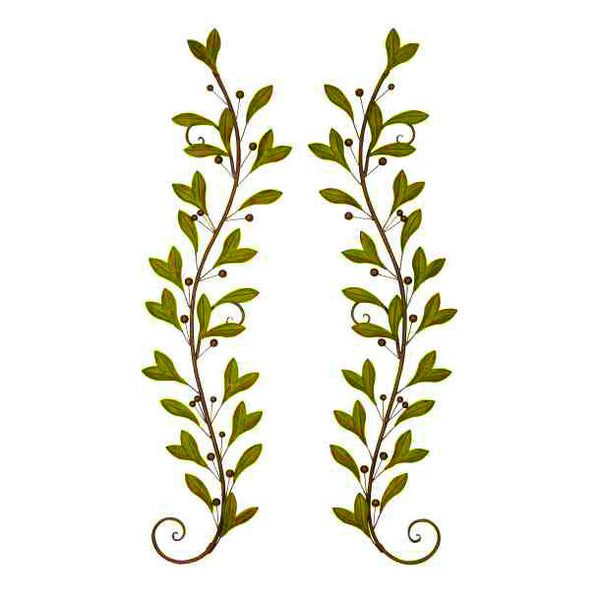 Leaf Wall Decor 41926 | UMA Enterprises