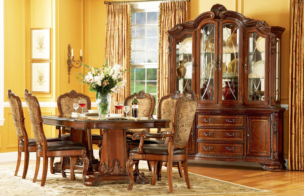 Olde World Five Piece Dining Set